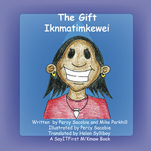 The Gift Book Cover in Maliseet
