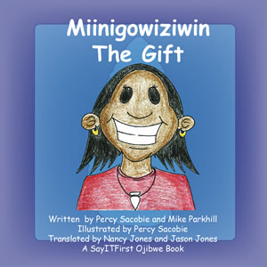 The Gift Book Cover in Ojibwe