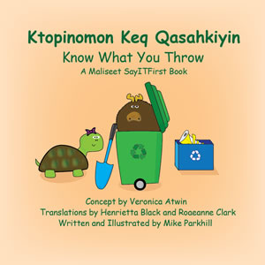 Book Cover for Know What You Throw in Maliseet