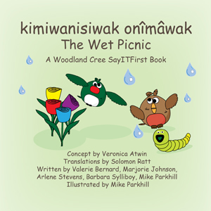 The Wet Picnic in Woodland Cree